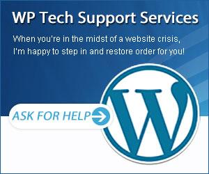 WordPress website maintenance services package